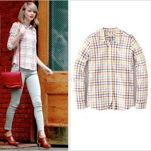 Steven Alan Reverse Seam Shirt ASO Taylor Swift, S